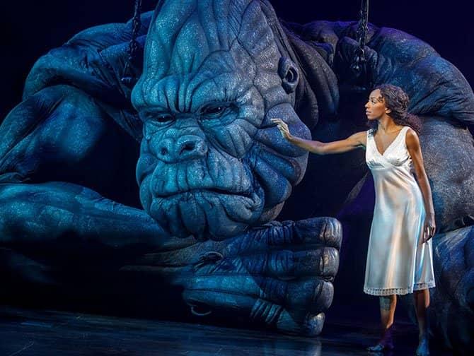 King Kong de Musical op Broadway Tickets - King Kong en Ann