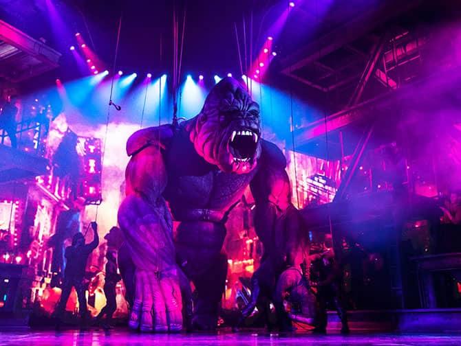 King Kong de Musical op Broadway Tickets - King Kong