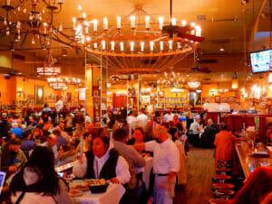 Carmine's Familie Restaurant in New York