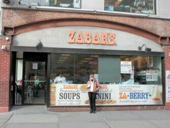 Klassieke Filmtour in New York - Zabars food store