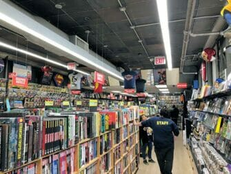 Superhelden Tour in New York - Stripboekwinkel