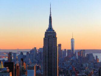 Verschil tussen New York Sightseeing Flex Pass en New York Explorer Pass - Empire State Building