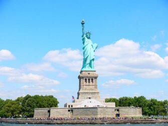 Verschil tussen New York Sightseeing Flex Pass en New York Explorer Pass - Vrijheidsbeeld