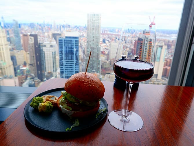 Restaurants in New York - Drankje bij Manhatta