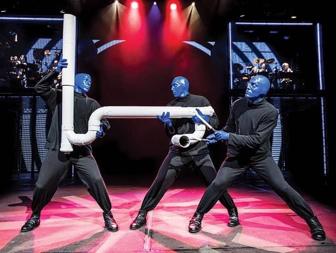 Broadwaymusicals voor Kinderen - Blue Man Group