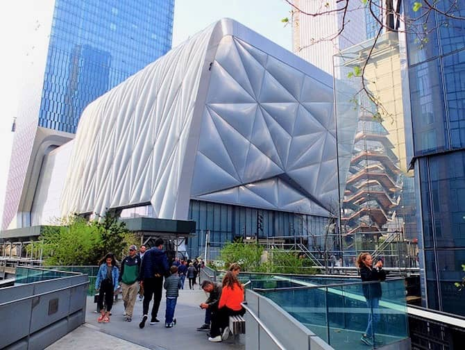 Hudson Yards in New York - The Shed