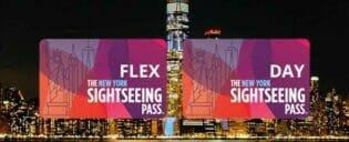 Verschil tussen New York Sightseeing Flex Pass en Sightseeing Day Pass