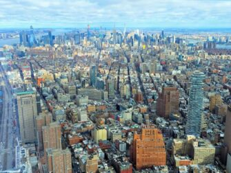 Verschil tussen New York Sightseeing Flex Pass en Sightseeing Day Pass - One World Observatory