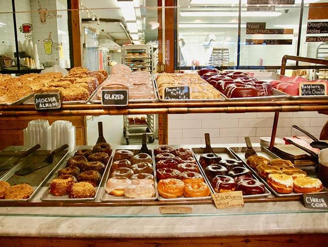 Donut Tour in New York - Vitrine
