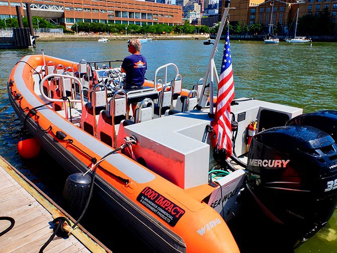 High Speed Boottocht in New York - RIB Boot