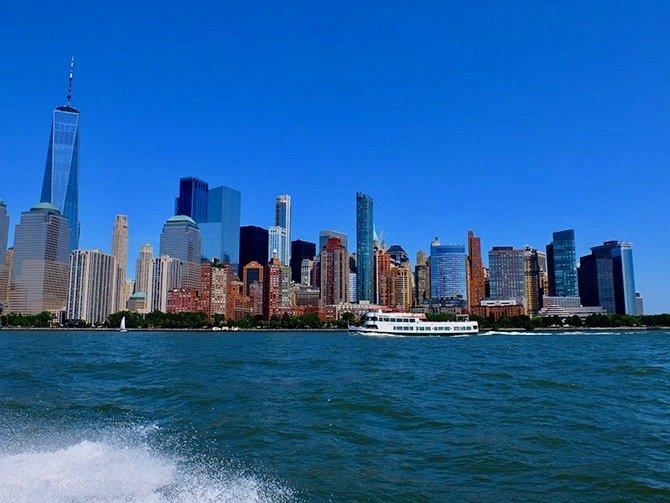 High Speed Boottocht in New York - Uitzicht vanaf de Boot