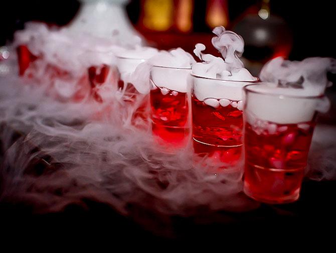 Halloweenfeesten in New York - Drankjes