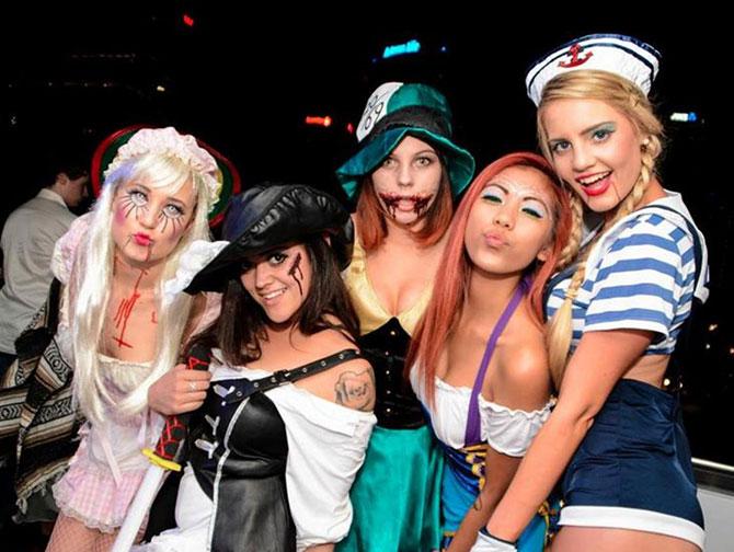 Halloweenfeesten in New York - Outfits