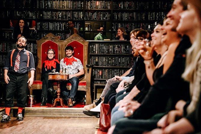 Drunk Shakespeare in New York Tickets - Publiek