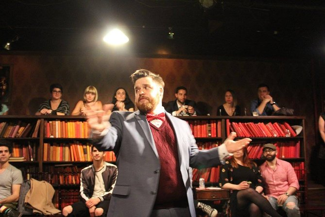 Drunk Shakespeare in New York Tickets - Optreden