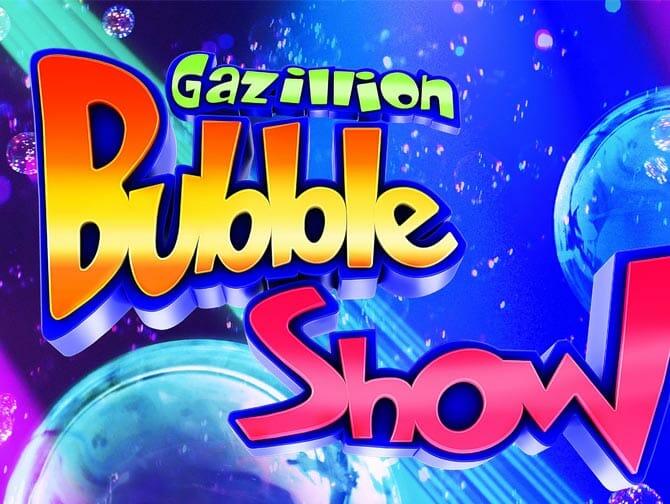 Gazillion Bubble Show op Broadway Tickets