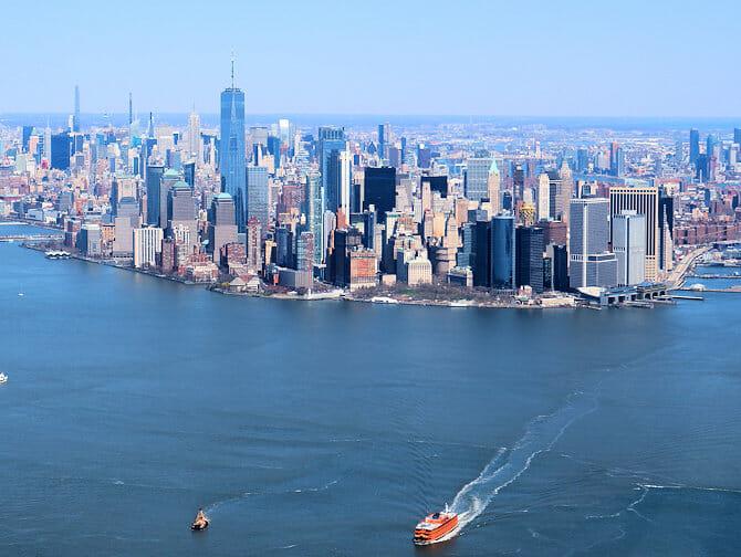 Goedkope Helikoptervluchten over New York