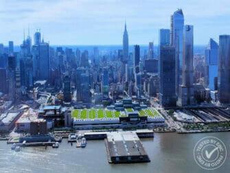 Helikoptervluchten in New York - Vliegen over de Hudson