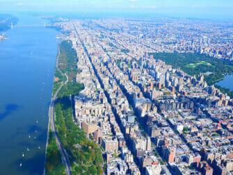 Helikoptervluchten in New York - Uitzicht op Central Park