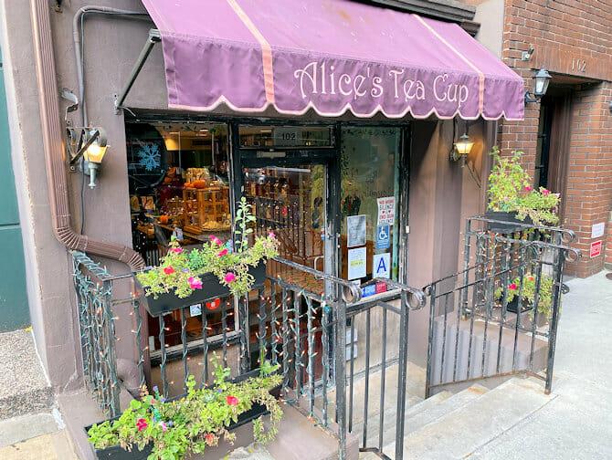 Moederdag in New York - Alices Tea Cup