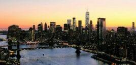 Avond Helikoptervlucht en Sightseeingcruise in New York