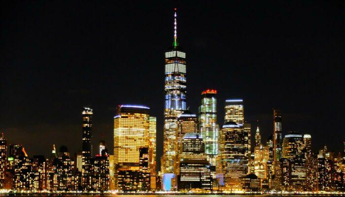 Avond Helikoptervlucht en Sightseeingcruise in New York - Skyline
