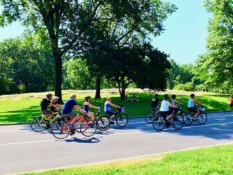 Duurzame New York Trip - Fietsen in Central Park