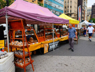 Duurzame New York Trip - Brood op de Union Square Greenmarket