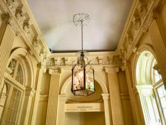 The Frick Collection in New York - Plafond