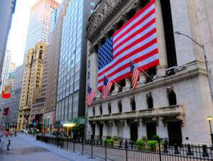 Lower Manhattan en het Financial District in New York