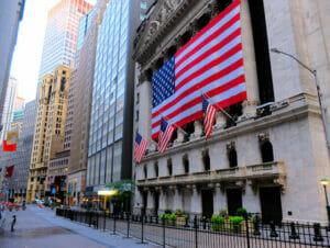 Lower Manhattan en het Financial District in New York