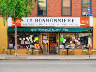 Ontbijten in New York - La Bonbonniere