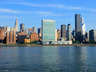 De Verenigde Naties in New York Chrysler Building