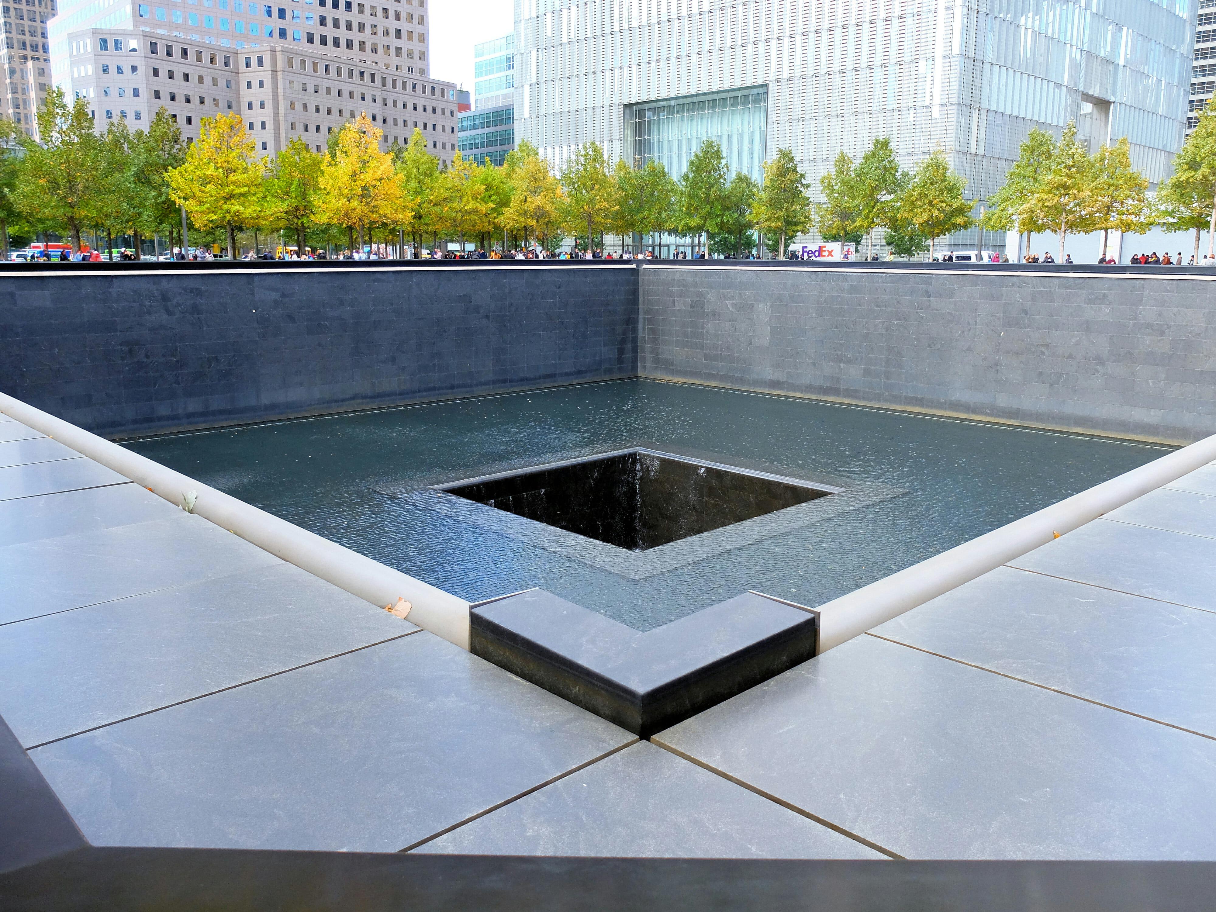 911 Memorial in New York High Quality Wallpaper