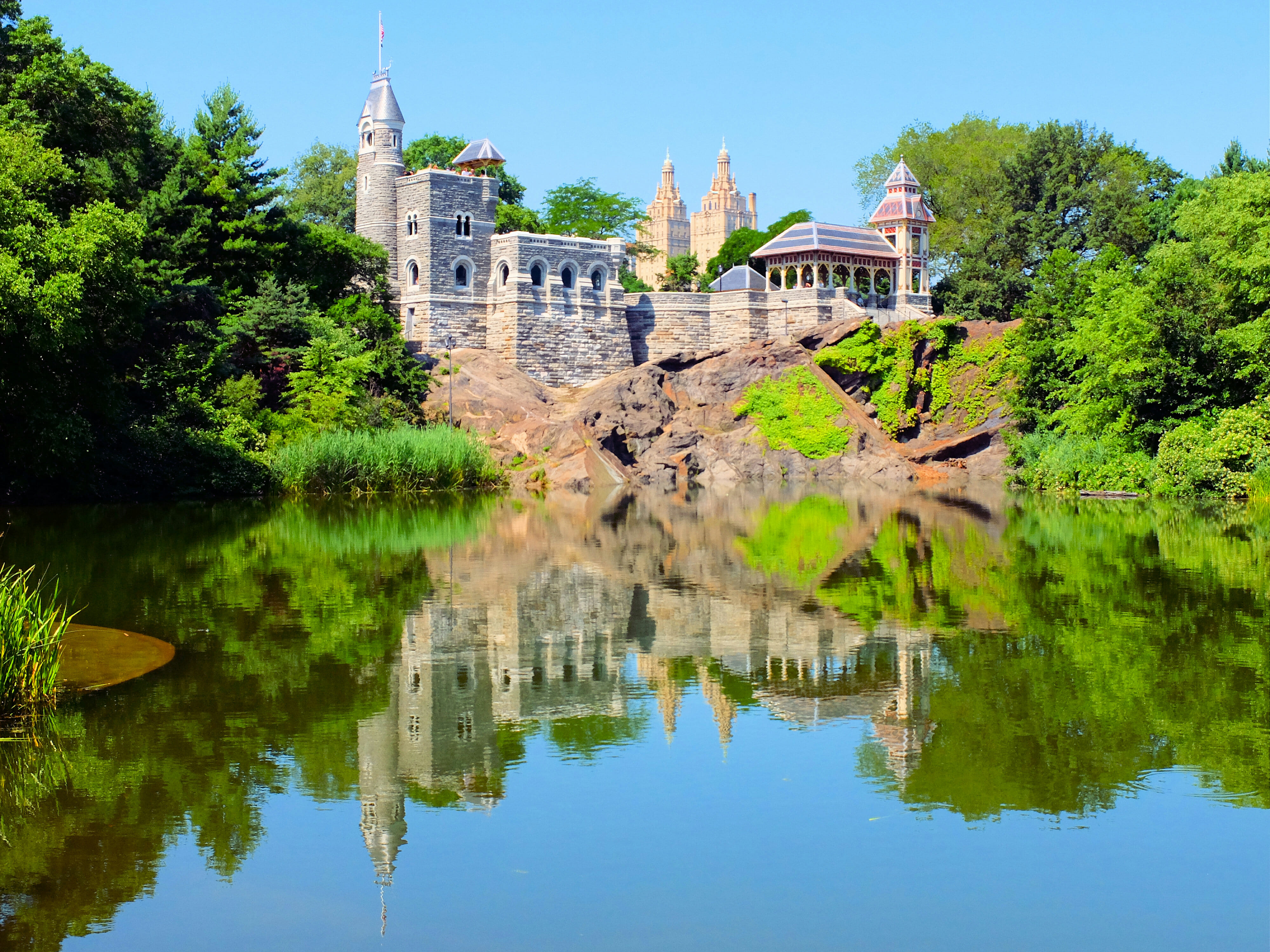 Belvedere Castle in Central Park New York High Quality Wallpaper