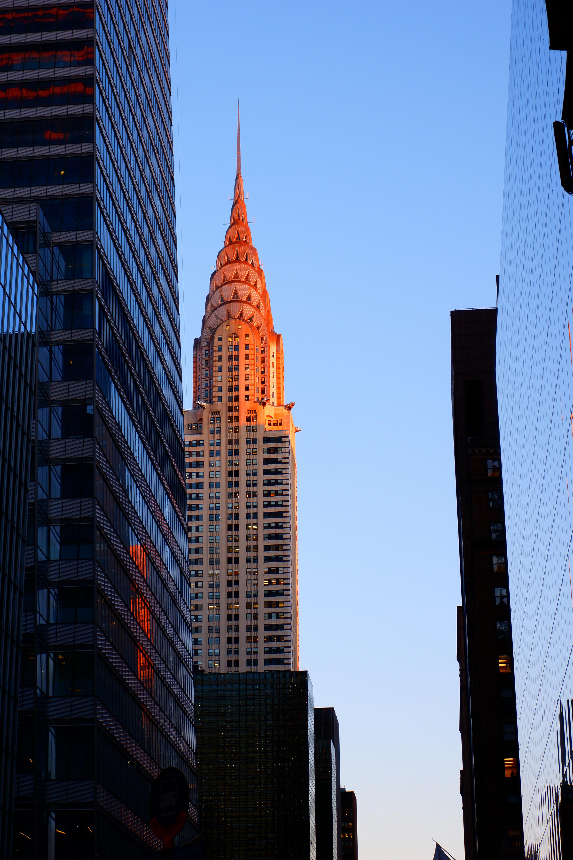 Chrysler Building in New York High Quality Wallpaper