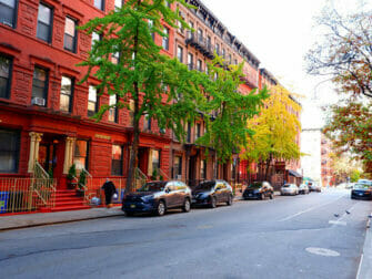 Hell's Kitchen in New York - Straat