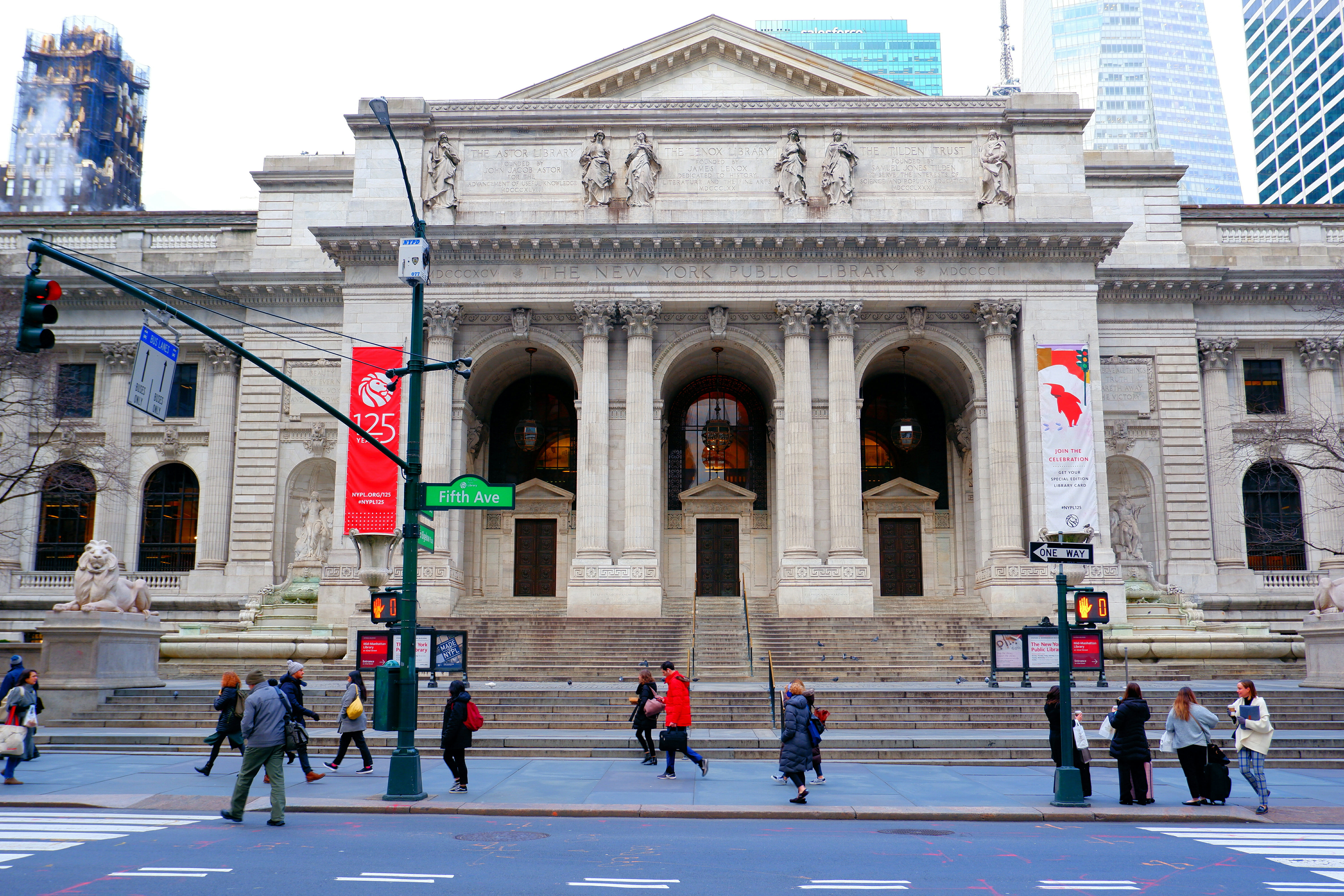New York Public Library High Quality Wallpaper