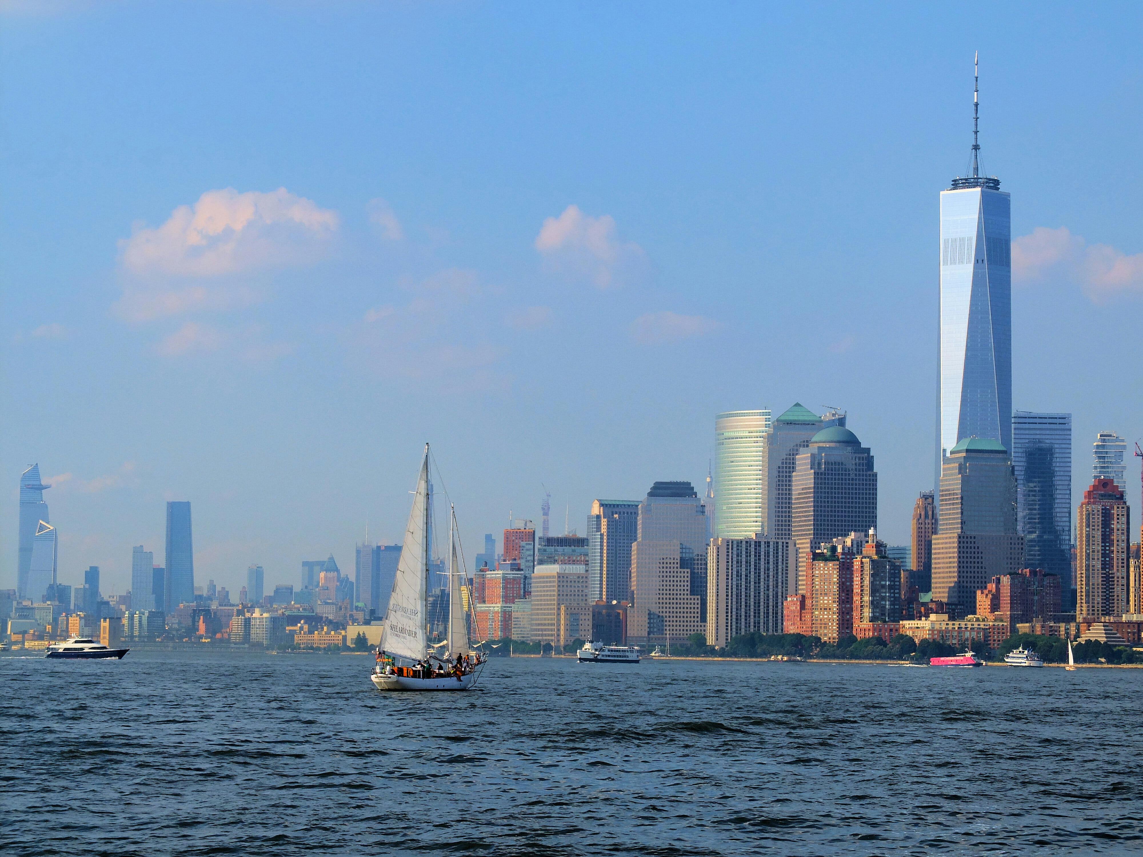 One World Trade Center New York Skyline High Quality Wallpaper