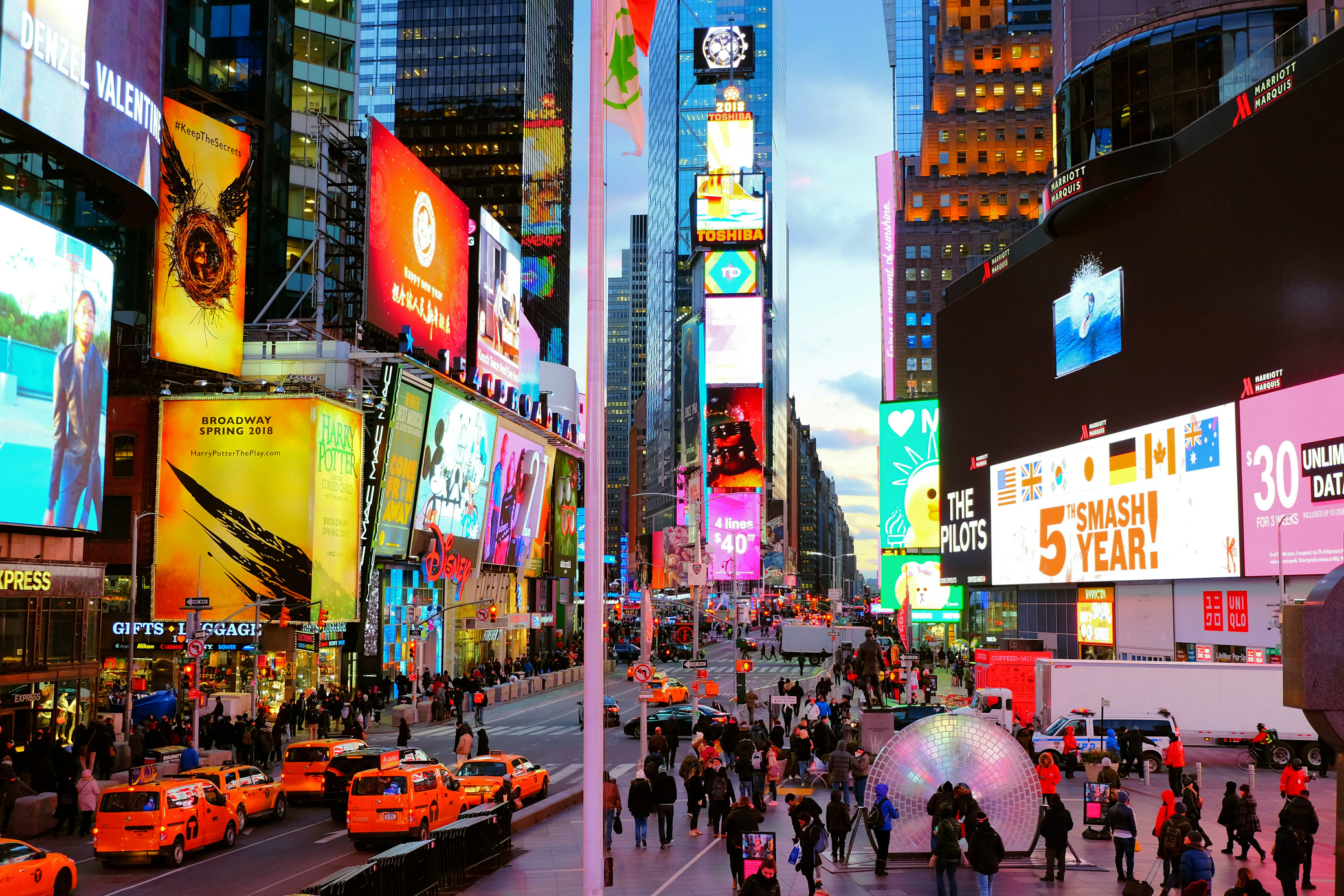 Times Square High Quality Wallpaper
