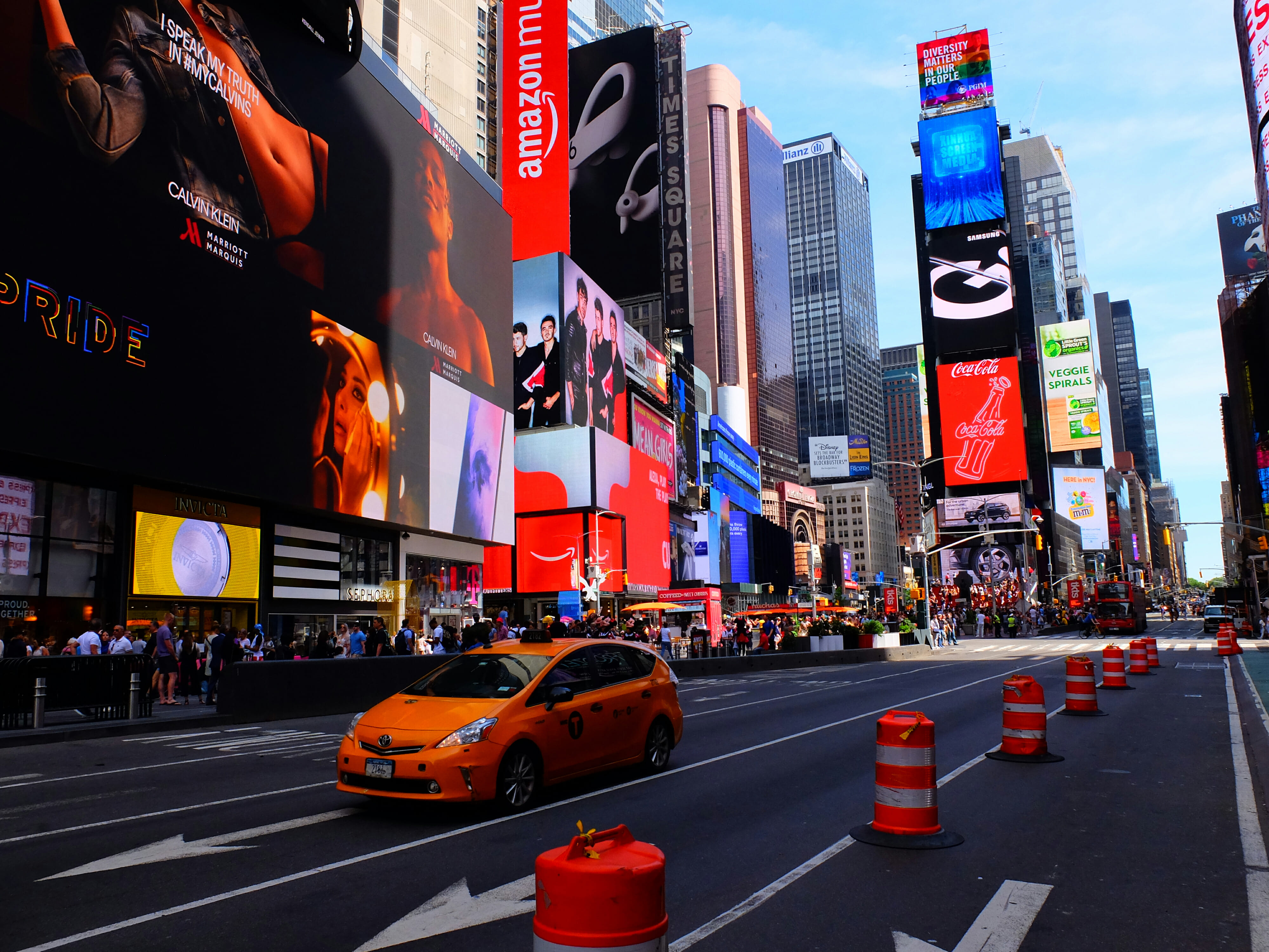 Times Square in New York City High Quality Wallpaper