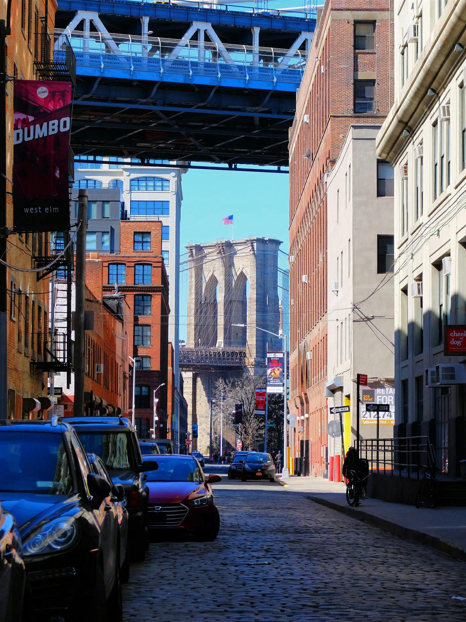 View of Brooklyn Bridge High Quality Wallpaper