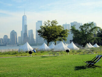 Governors Island in New York - Tenten