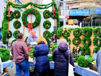 New York Kerstmarkten Union Square Kerst