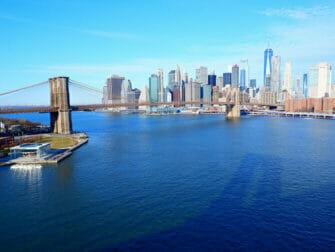 New York Manhattan Bridge - Overzicht