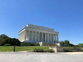 Washington D.C. Passen voor Attracties - Lincoln Memorial