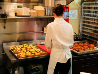 Beste Donuts in New York - Dominique Ansel Bakery keuken