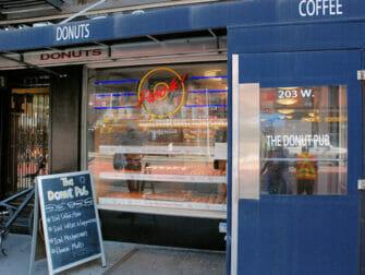 Beste Donuts in New York - The Donut Pub