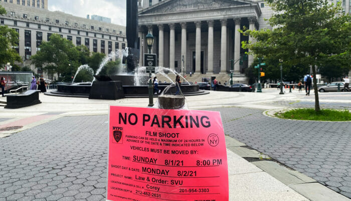 Filmlocaties in New York - No Parking