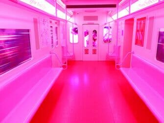 Museum of Ice Cream in New York - Roze Metro